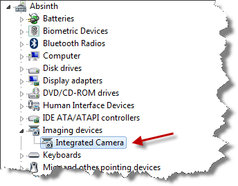 Ticklish Techs » Blog Archive » Lenovo Integrated Camera again