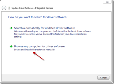 Update Driver Software I